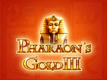 Игровые аппараты Pharaohs Gold III в Вулкан